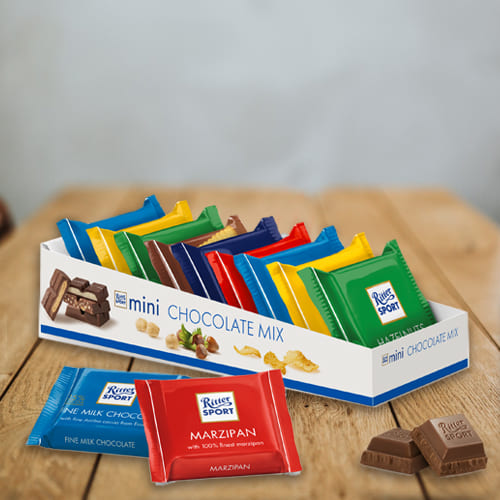 Marvelous Gift Pack of Ritter Sport Mini Chocolate Mix