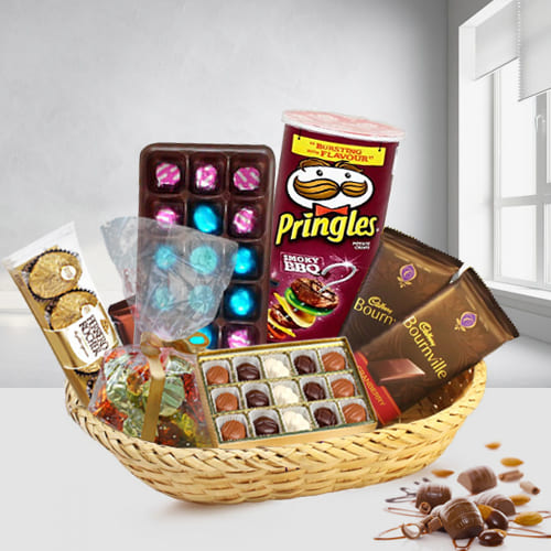 Delectable Chocolates Gift Basket