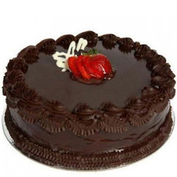 Blissful Eggless Chocolate Cake for Anniversary