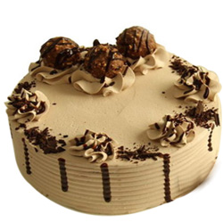 Sumptuous Ferrero Rocher Chocolate Cake