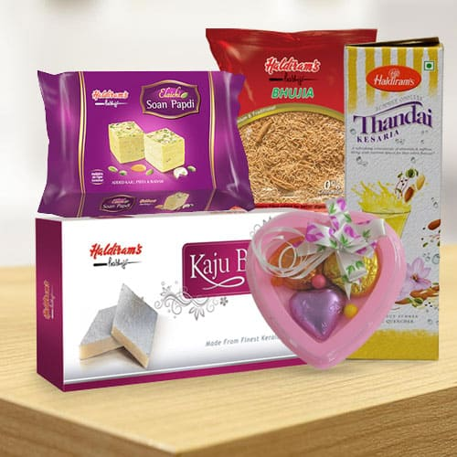 Delightful Selection of Haldirams Combo Gift