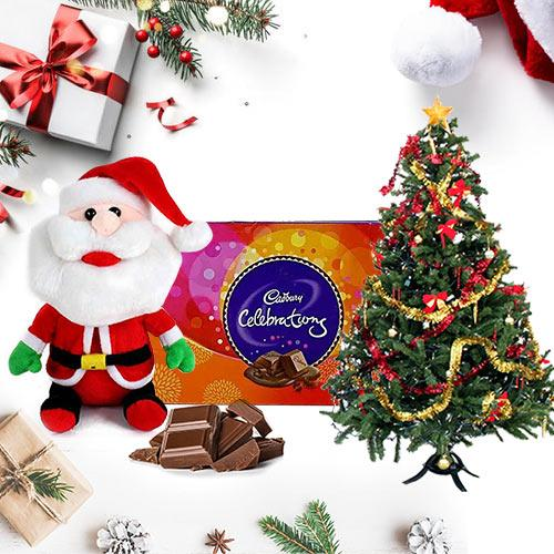 Christmas Tree, Santa N Chocolates