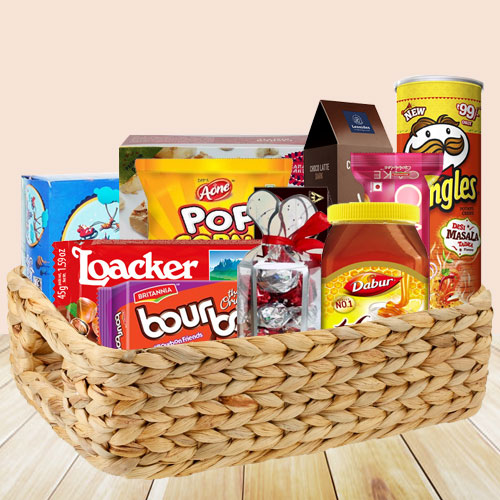 Incomparable Food Basket with Amazing Taste