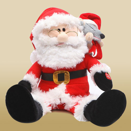 Cheery Santa Clause Soft Toy