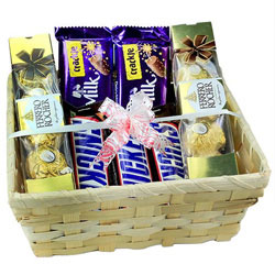 Tasty Chocolate Gift Basket