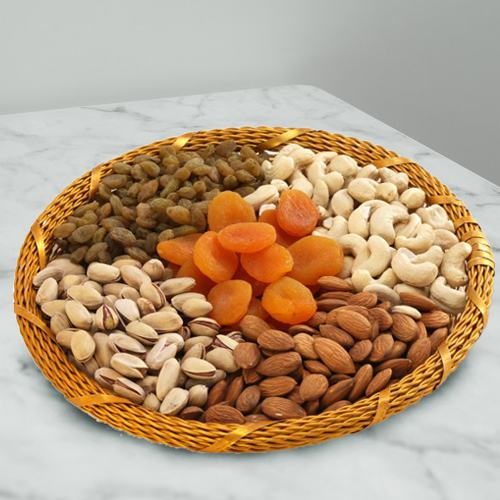Healthy Basket of Dried Nuts for Mummy