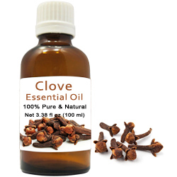 Lovable Collection of 100% Natural Clove Essential Oil