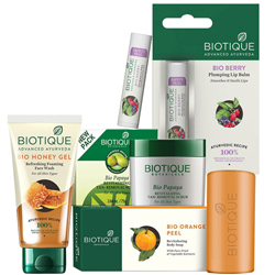 Delightful Present of Biotique Womens Care Products