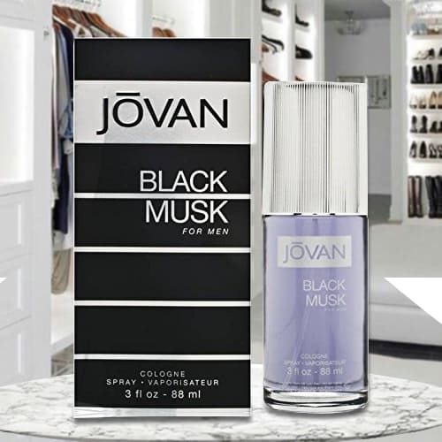 Amazing Jovan Black Musk Cologne for Men