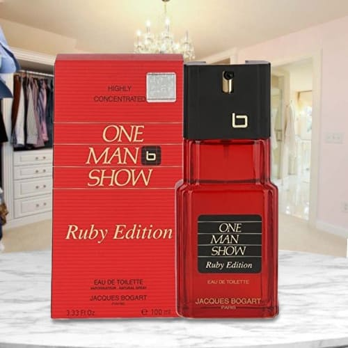 Lovely Bogart One Man Show Ruby Edition Perfume for Men