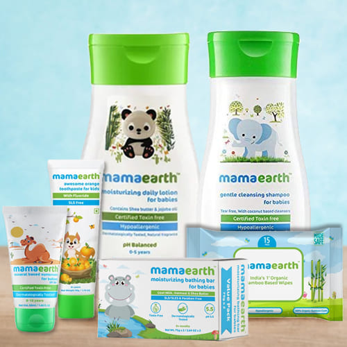 Tender Feel Mamaearth Baby Skin Care Hamper