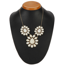 Classy Floral Designer Necklace Presented by Avon