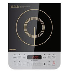 Splendid Philips Black Induction Cook Top Made of Micro Crystal Plate