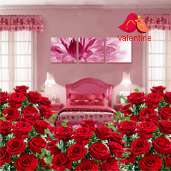 <u><font color=#008000> MidNight Delivery : </FONT></u>:Room Full of Roses