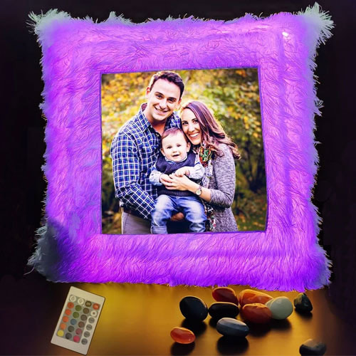 Beautiful Personalized LED Cushion