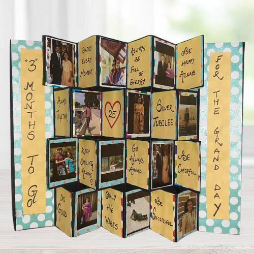 Magnificent Pop Up Personalized Zig Zag Card
