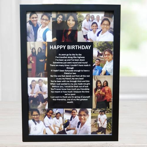 Amusing Personalized Collage Frame
