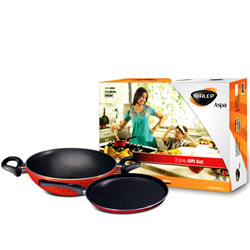 Nirlep Aspa 2 Pc Non-Stick Gift Set