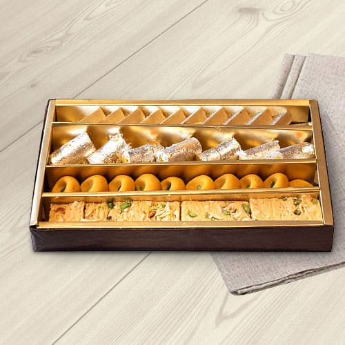 Delectable Assorted Sweets Box