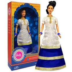 Barbie Doll in India (Visits Ajanta Caves)