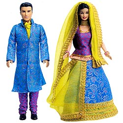 Barbie And Ken In India Gift Pack