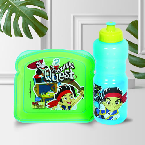 Amazing Disney Jake and The Never Land Pirates Sipper Bottle n Lunch Box