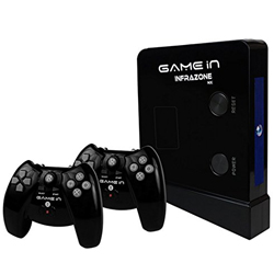 Lovable Display of Infrazone Nx MT30 Gaming Console Black from Mitashi