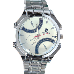 Dynamic Silver Color Wrist Watch for Gents